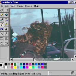 freetoedit girl film windy evening