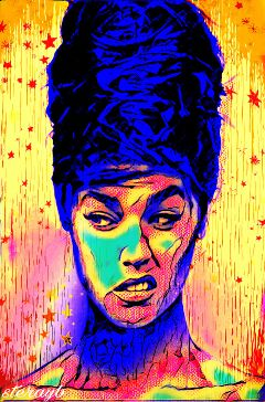 psychedelic retro popart colorful