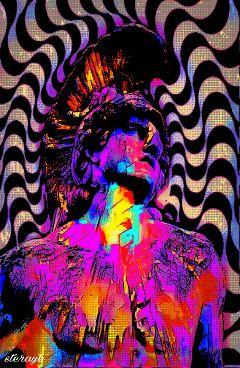 psychedelia psychedelic popart retro vintage