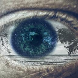 eye eyes hdr landscape sea