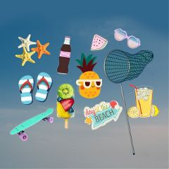 Use,photos,and,stickers,to,create,a,Summer,Mood,Board,for,the,win!,Cover,image,by,@andreaschulz19