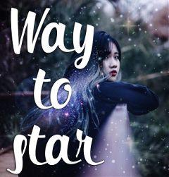 girl galaxy space stars imiagination