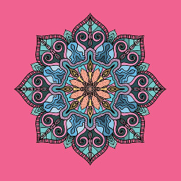 Draw,your,own,meditative,mandala,for,this,week's,challenge.