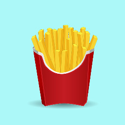 Make,an,irresistible,french,fry,sticker,to,win,today's,challenge!