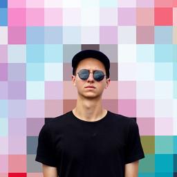 Make,a,creative,edit,using,PicsArt's,Pixelize,Effect,to,enter!