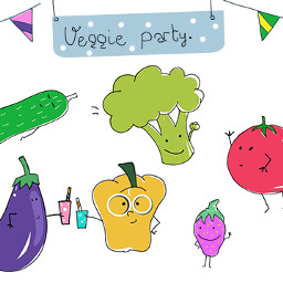 Draw,,funny,characters,out,of,fruits,and,vegetables,to,enter!