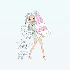 Get,busy,with,creating,the,perfect,#Shopping,Stickers,for,this,Challenge!